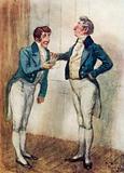 Illustration for Persuasion by Jane Austen