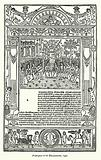 Frontispiece of the Decamerone, 1492