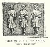 Sign of the Three Kings, Bucklersbury