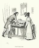 Illustration for Persuasion by Jane Austen