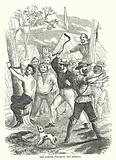 The Diggers punishing the Robbers