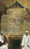 Caire, Entree a la Pyramide de Cheops