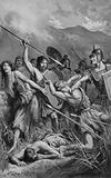 A Roman Attack on the Britons in Mona