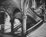 The Grand Staircase in the Paris Opera House