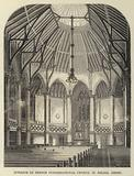 Interior of French Congregational Church, St Helier, Jersey