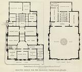 Selected Design for the Islington Vestry-Hall, Plans
