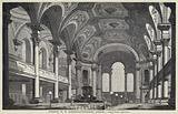 Interior of St Martin's-in-the Fields, London