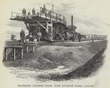 Travelling Concrete Stage, Main Drainage Works, London