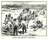 Laying the Railway in Rhodesia