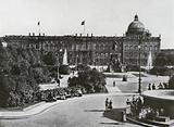Berlin, Lustgarten mit Schloss und Denkmal Friedrich Wilhelms III