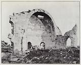 Environs of Beit-Djibrin, Apsis of the basilica of Sanda-Hanna