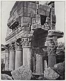 Baalbeck, the temple of Jupiter, pronaos