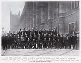 The Parliamentary Labour Party in 1919 on the Terrace of the House of Commons