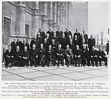 The Parliamentary Labour Party in 1910 on the Terrace of the House of Commons
