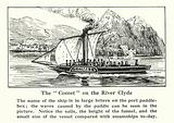 """The """"Comet"""" on the River Clyde"""