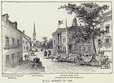 Wall Street in 1700