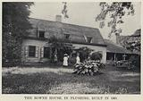 The Bowne House, in Flushing, built in 1661