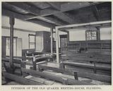 Interior of the Old Quaker Meeting-House, Flushing