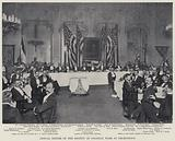 Annual Dinner of the Society of Colonial Wars at Delmonico's