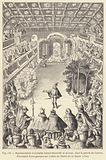 Representation d'un ballet devant Henri III et sa cour, dans la galerie du Louvre