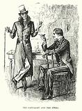 Illustration for Trilby by George du Maurier