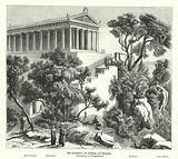 Temple of Poseidon, Kalaureia, Greece, where Demosthenes took sanctuary before taking poison in 322 BC
