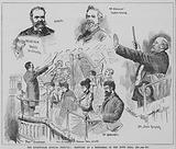 Rehearsal in the town hall for the Birmingham Musical Festival, 1891