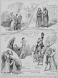 Scenes from a performance of Charles Gounod's opera Philemon et Baucis at the Royal Opera House, Covent Garden, …