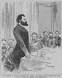 Sergius Stepniak speaking at the meeting of the Society of Friends of Russian Freedom at the St James's Hall …