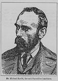 Michael Davitt, Irish republican campaigner and politican and founder of the Irish National Land League, 1891