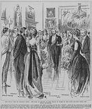 Dancing the Royal Quadrille at the ball held in honour of the Prince of Wales in the state drawing room at Welbeck Abbey, Nottinghamshire, 1891
