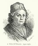 Andrea del Verrocchio, Italian Renaissance painter, sculptor and goldsmith