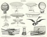 Balloons, airships and other flying machines