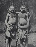 Two witch doctors from near Dar-es-Salaam, Tanganyika