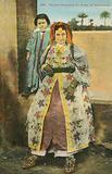 Moroccan woman wearing ceremonial dress