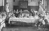 Dinner at Dr Barnardo's Babies' Castle, Hawkhurst, Kent