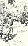 Murder of General Charles George Gordon by the Mahdists, Khartoum, Sudan, 1885