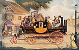 Goldsworthy Gurney's new steam carriage, 1828