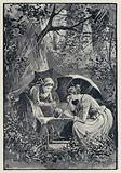 Illustration for Anna Karenina: The storm in the Kolok Woods