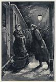 Illustration for Anna Karenina: Vronsky encounters Anna at the station