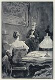 Illustration for Anna Karenina: The quarrel between Anna and her husband