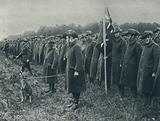 Review of Australian Troops on Salisbury Plain, Parade of Invalids who have been wounded in France