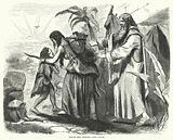 Hagar and Ishmael cast forth