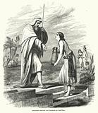 Abraham's Servant and Rebekah at the Well