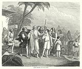 Jacob setting out for Egypt