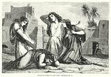 Mourning Women of the East, Jeremiah IX, 17