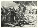 Shadrach, Meshach, and Abednego in the Fiery Furnace, Daniel III, 25