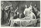 Damsel, I say unto thee, arise, Mark V, 41