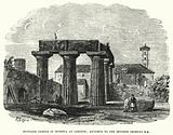 Supposed Temple of Minerva at Corinth, ascribed to the Seventh Century BC