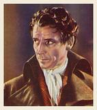 Ronald Colman, as Sidney Carton